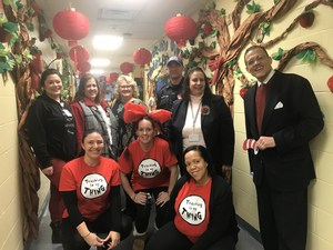 Read Across America at the Ecc with Superintendent and Friends