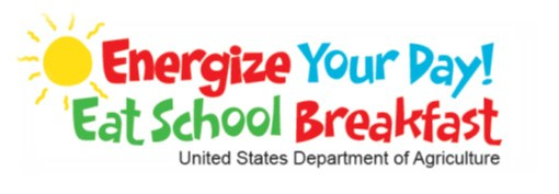 Energize your day. Eat School breakfast! United States Department of Agriculture.