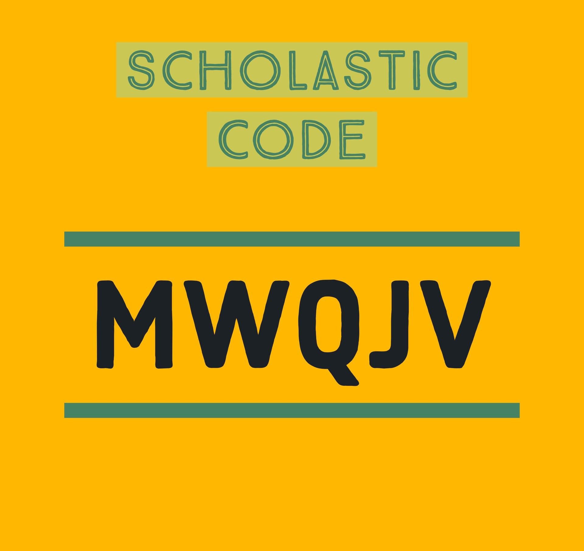 Scholastic Class code