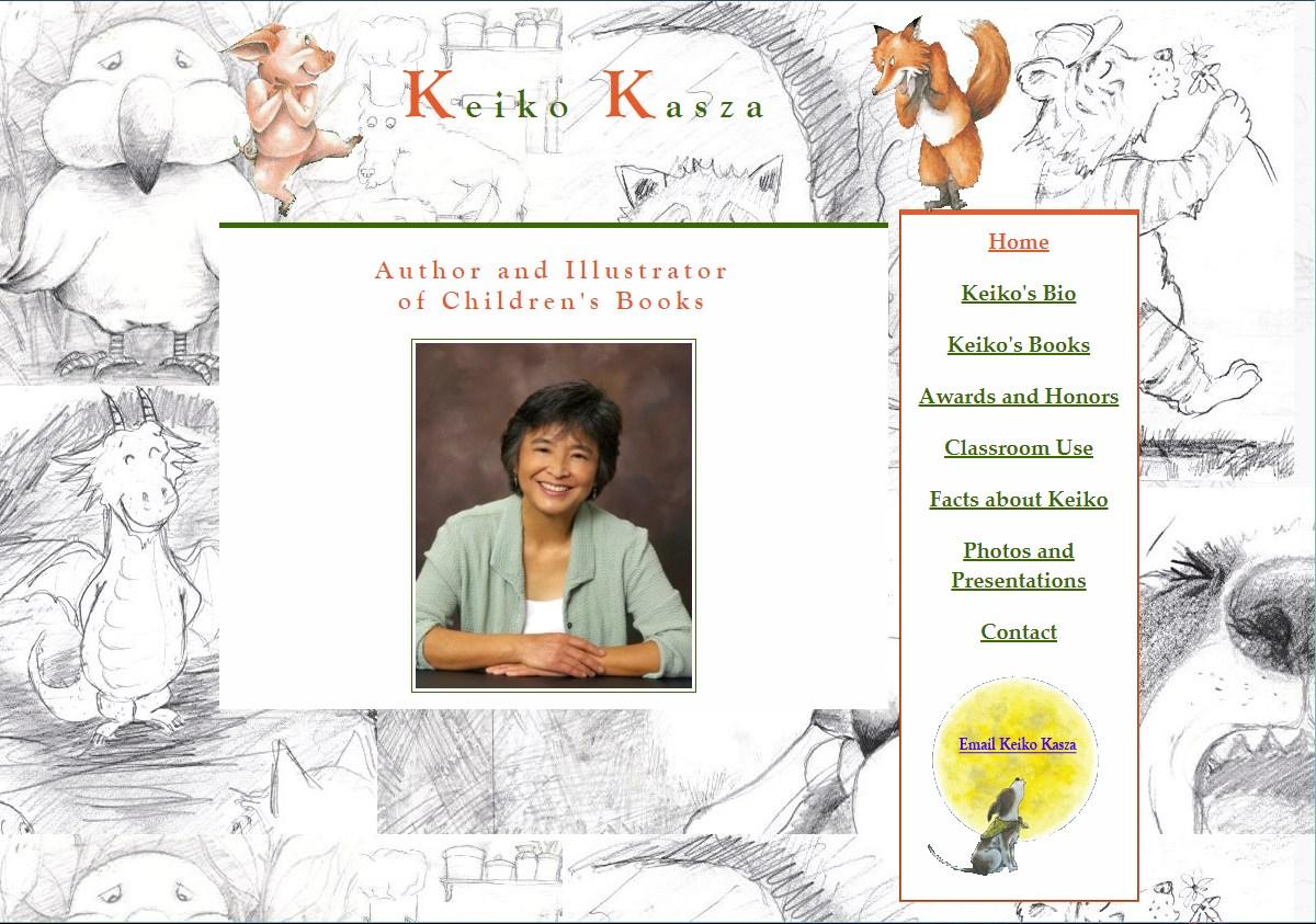 Author Keiko Kasza