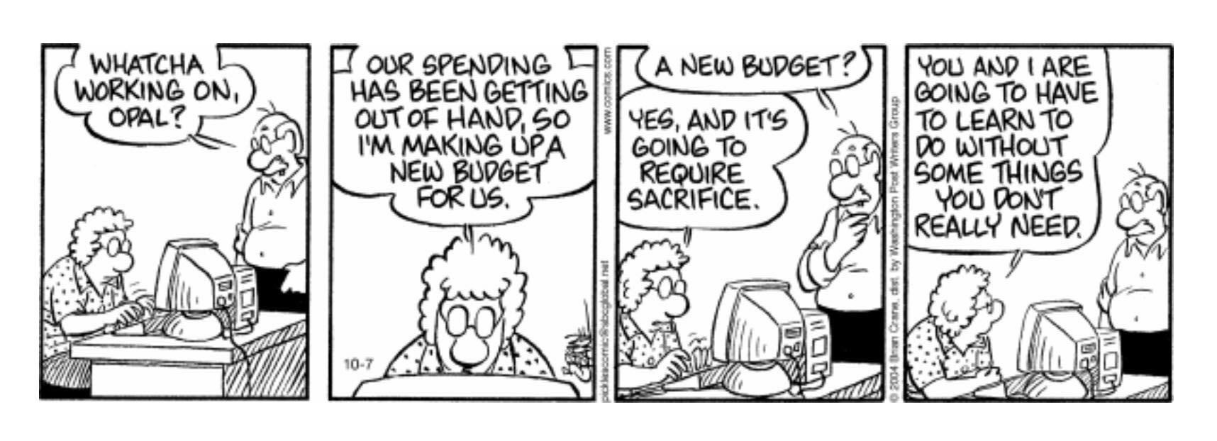 Finance Comic
