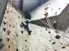 Third Graders Rock Climbing
