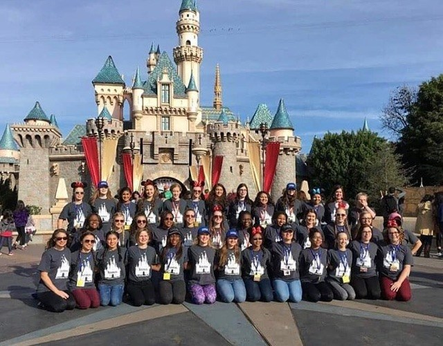 Charmers at Disneyland in 2017