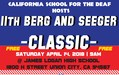 CSD to host Berg and Seeger Classic