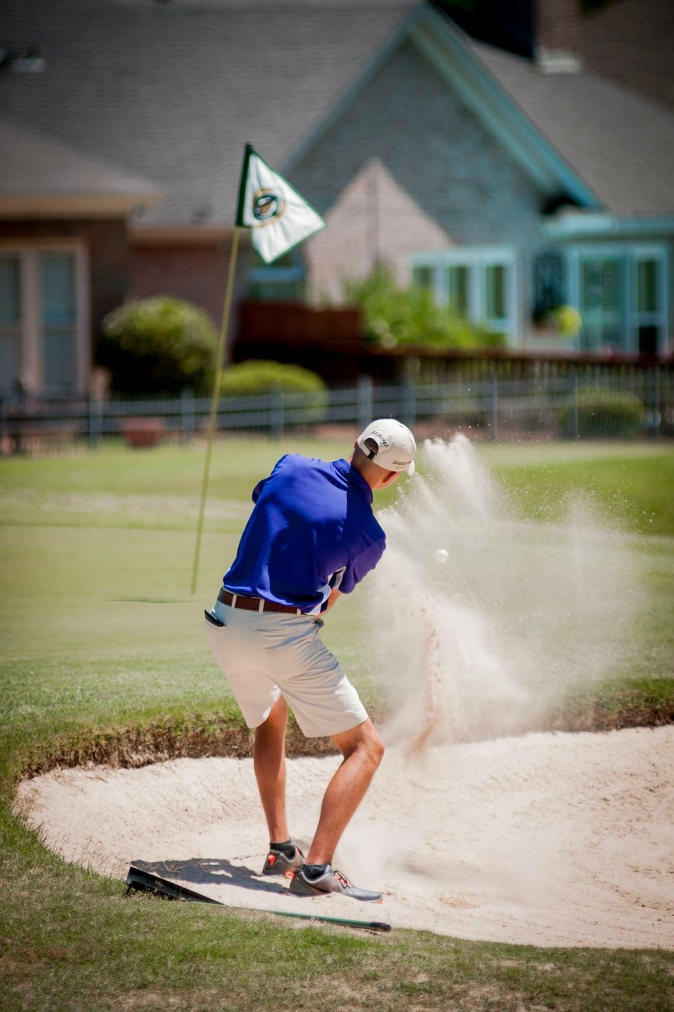 Bibb County High School Golf team playing golf