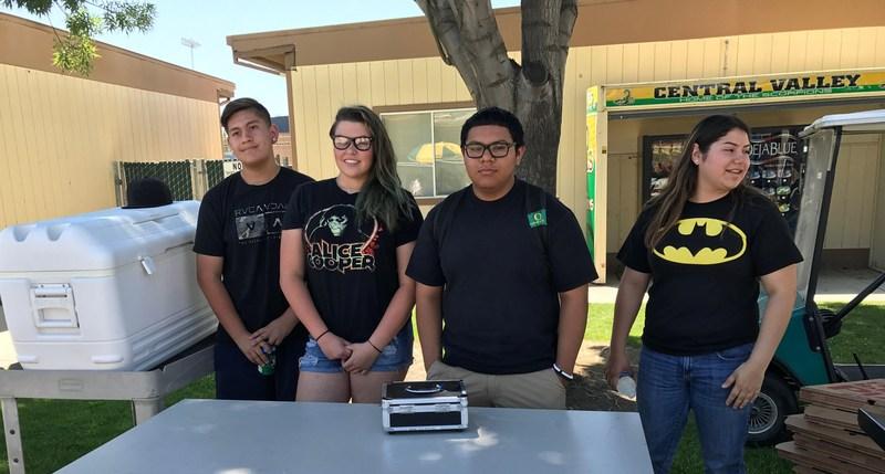 Michael Anaya, Madison Boswell, Guillermo Juarez, Karen Canchola