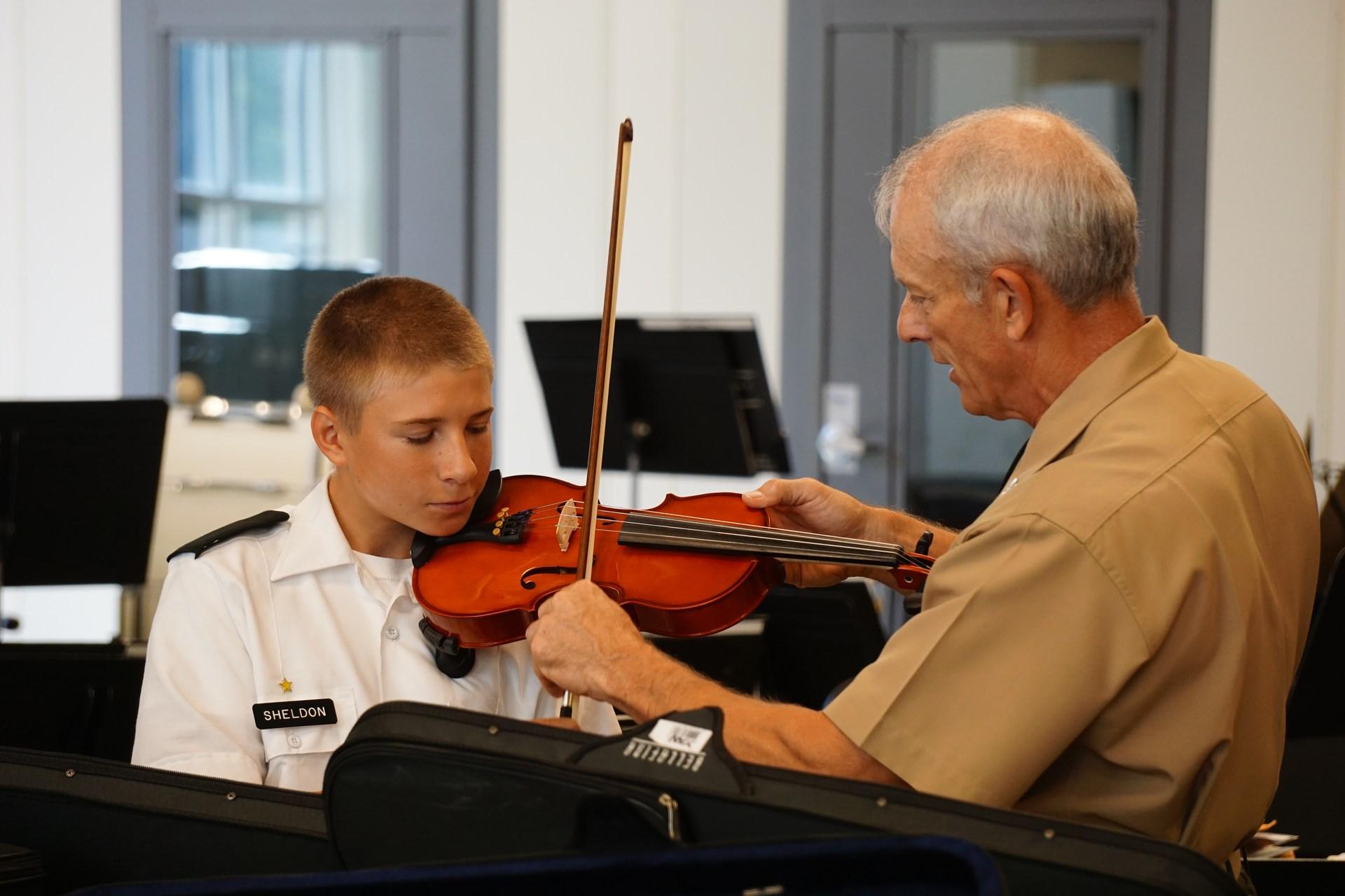 grabowski teaching violin