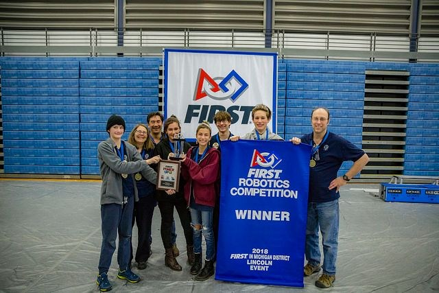 Steiner Steel Storm Robotics Win