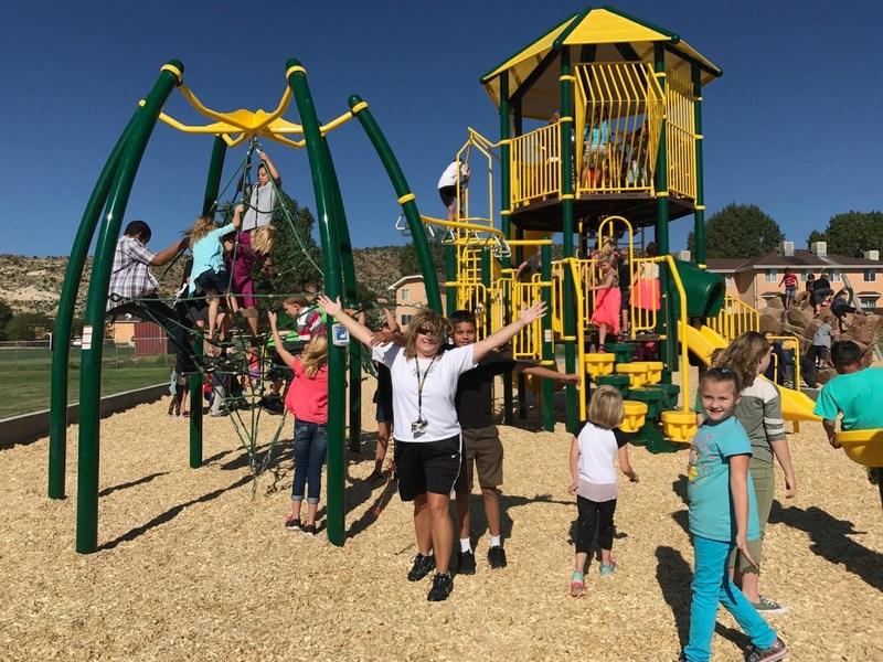 New Playground Equipment for Cañon Exploratory School Thumbnail Image