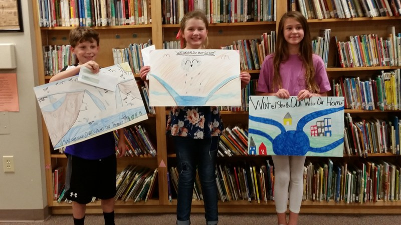 4th Graders Take Part in Bibb County Soil & Water Poster Contest Featured Photo