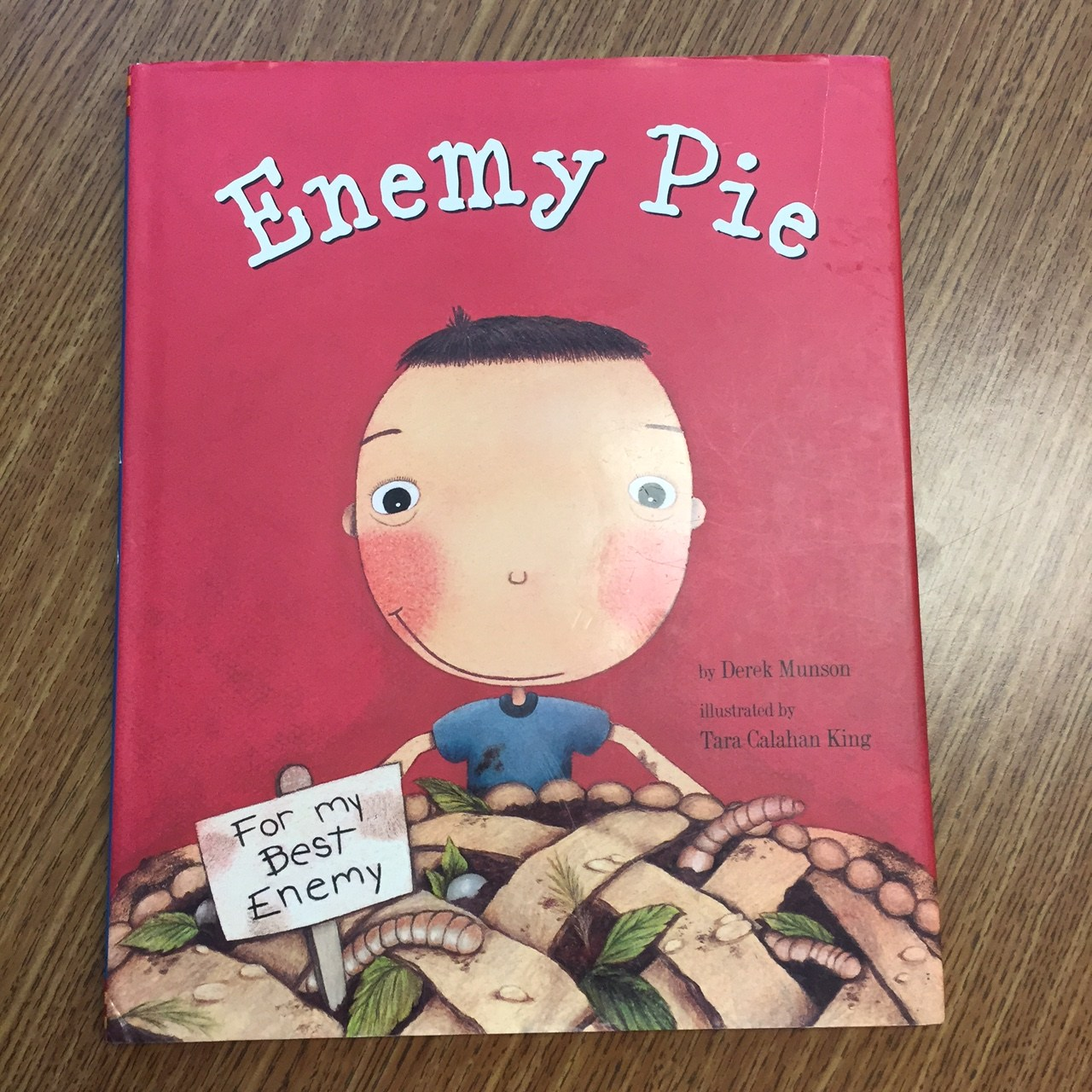 3rd grade lesson Enemy Pie
