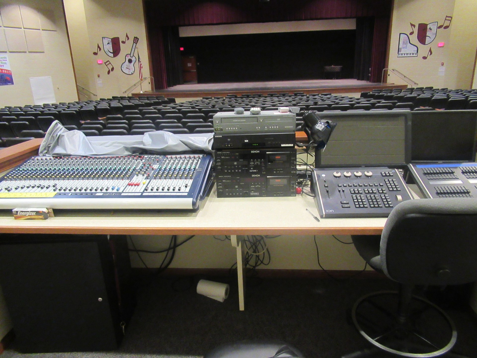 AAJHS Stage Control Board