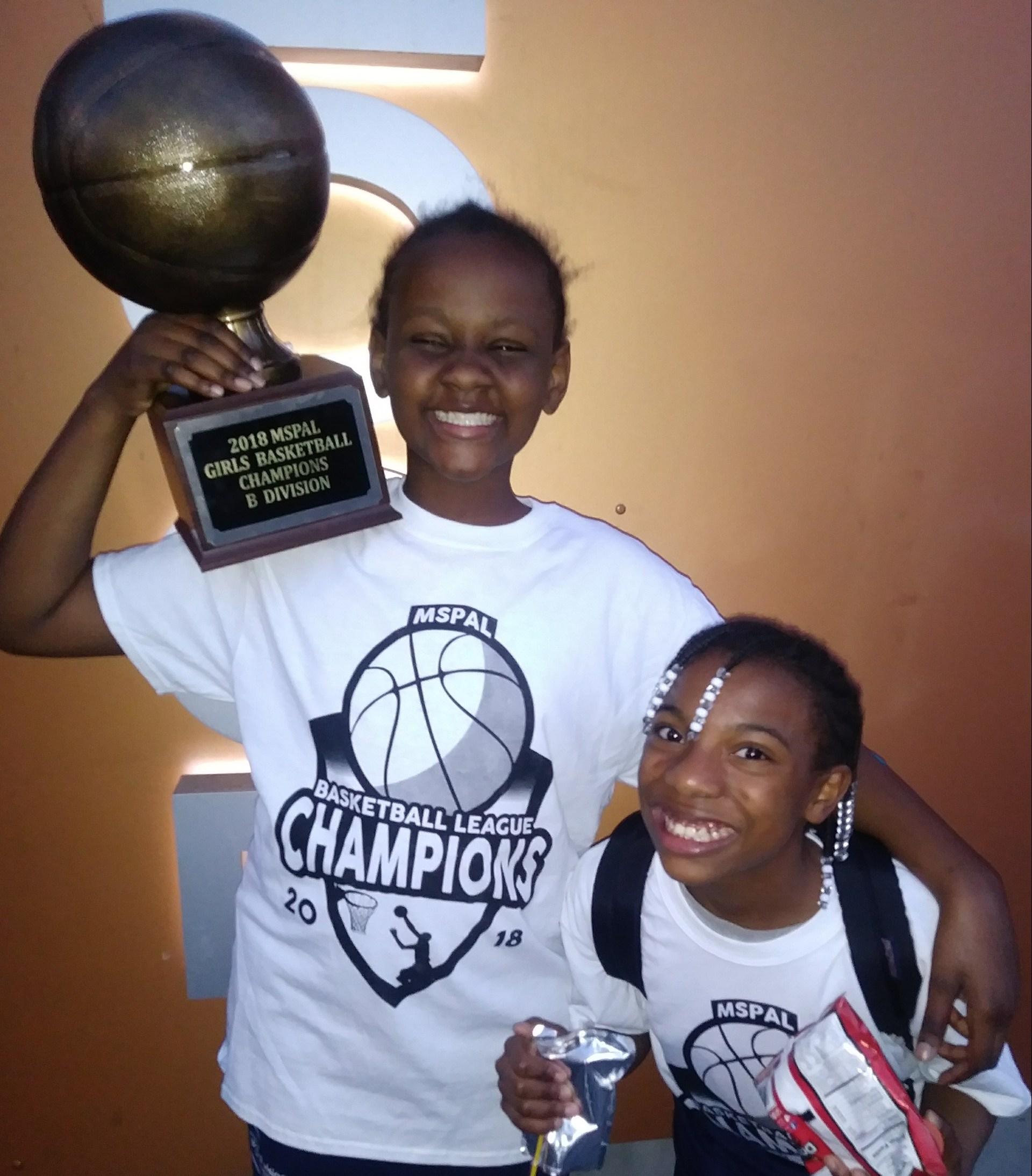 Basketball girls champions