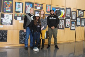 Four Local Artists Judge Student Artwork