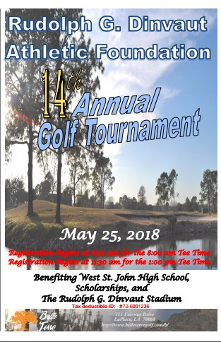 Rudolph G. Dinvaut Golf Tournament---May 25th 2018 Thumbnail Image