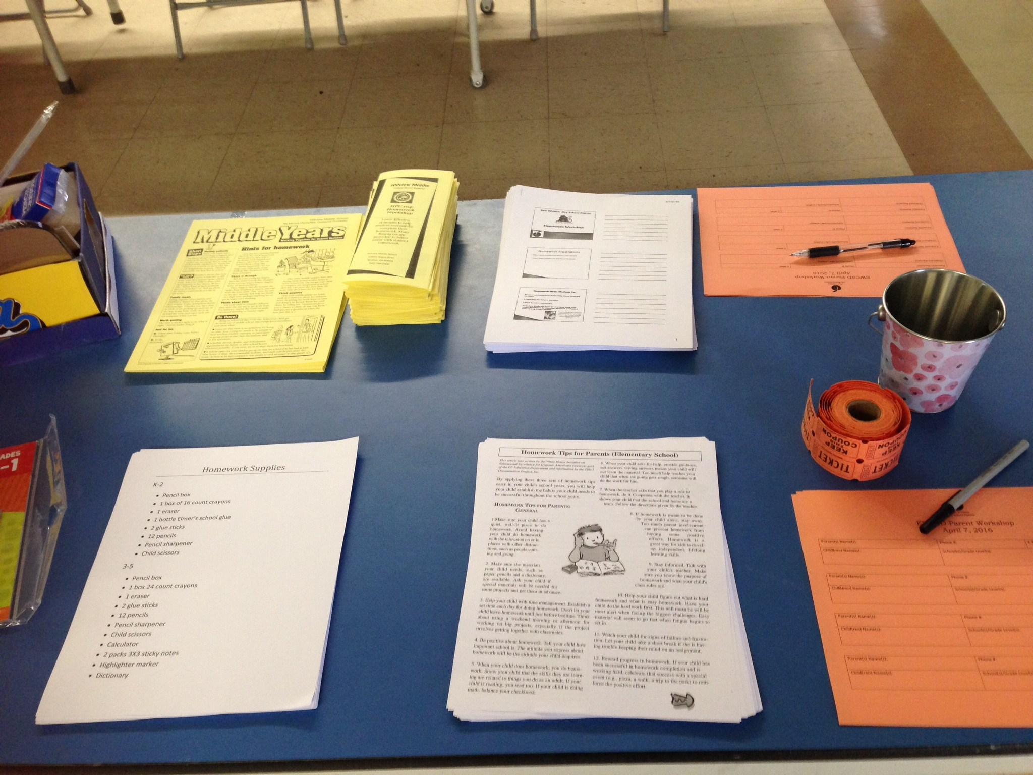 Resources available at Parent Academy