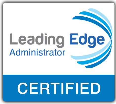 An image displaying the Leading Edge logo for Administrator