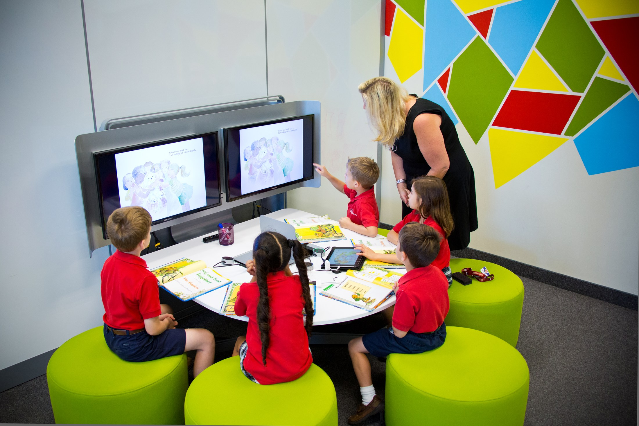 Active Learning Spaces – Technology – All Saints Catholic School