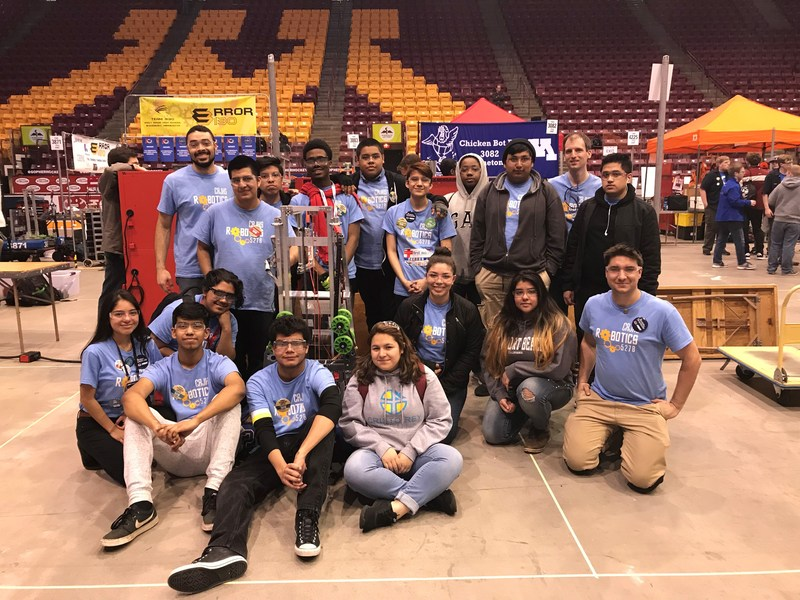 Robotics Team to Make Debut Appearance at State Robotics Tournament Thumbnail Image
