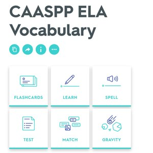 CAASPP Vocabulary