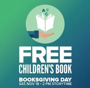 HPB Flyer for Booksgiving