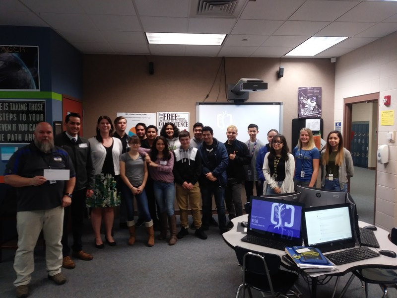 Idaho Central Credit Union donates $500 for Caldwell High Business class field trip Thumbnail Image