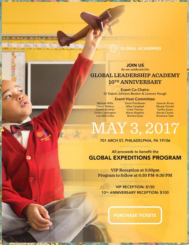 Join us for the 10th Anniversary of GLOBAL LEADERSHIP ACADEMY! Featured Photo