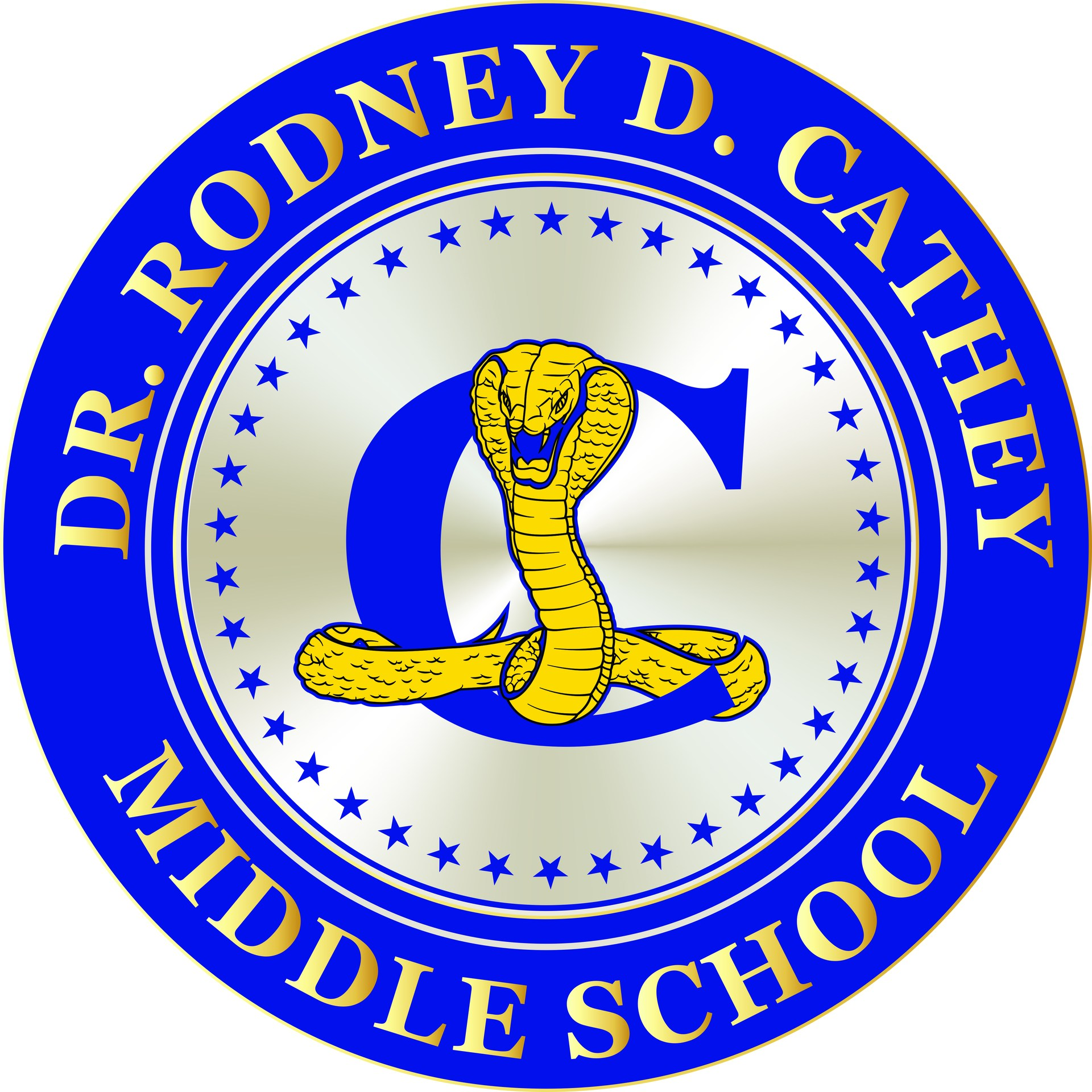 Dr. Rodney D. Cathey Middle School seal