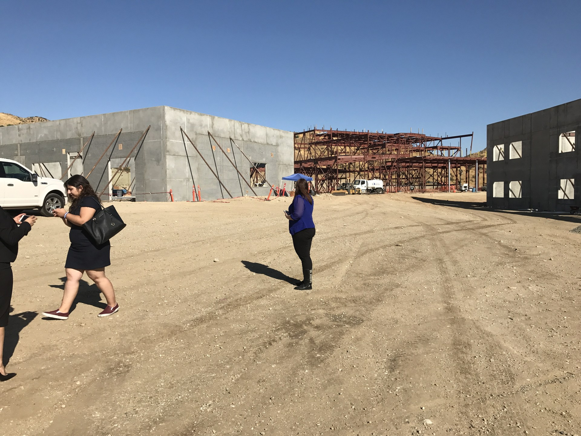 September 29, 2017 update: The walls are going up!