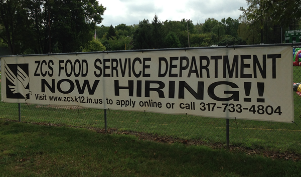 ZCS Now Hiring and ZCS Food Service Department Now Hiring