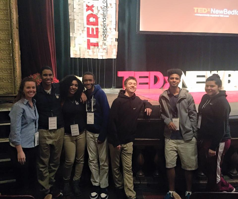 Students at Ted-x Talks
