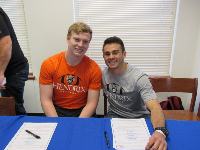 Adams and Jones sign at Hendrix College Thumbnail Image