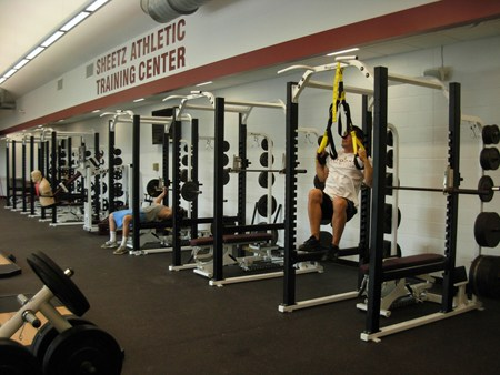 Sheetz Athletic Training Facility - Inside View