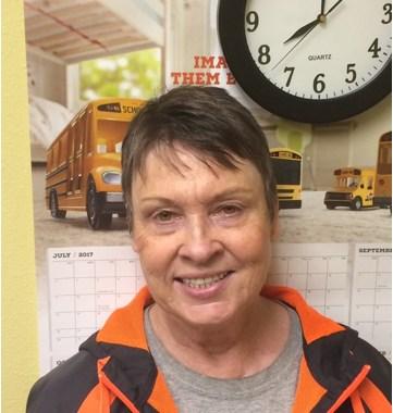 Samantha Cassel, Bus Driver