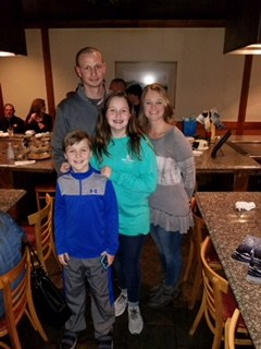 nurse kelley and family