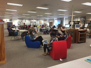 Students love the new comfy chairs!