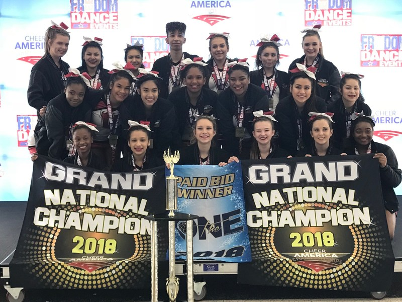 VEHS and VWHS Cheerleaders Join Forces to Bring Home Championships Thumbnail Image