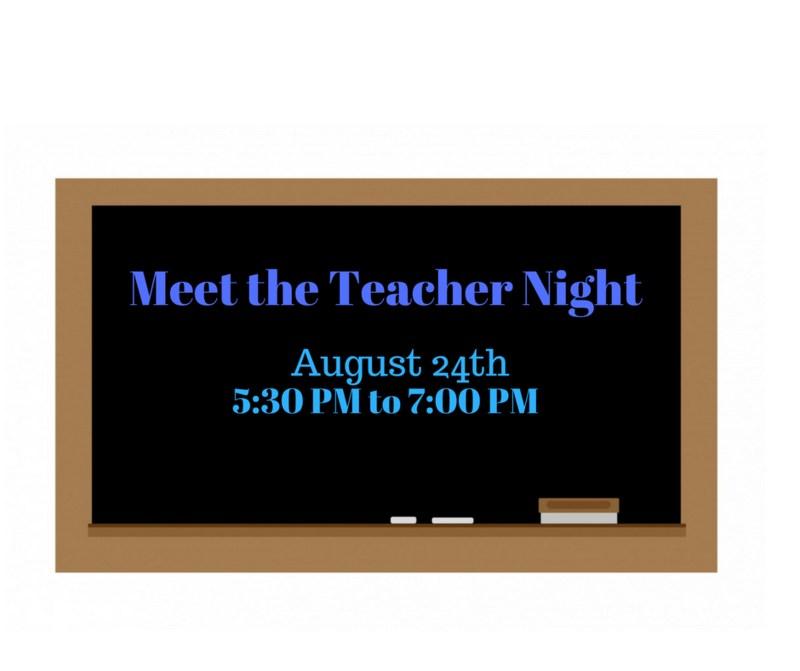 Meet the teacher graphic