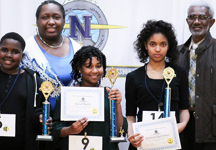 2018 District Spelling Bee Winners Thumbnail Image