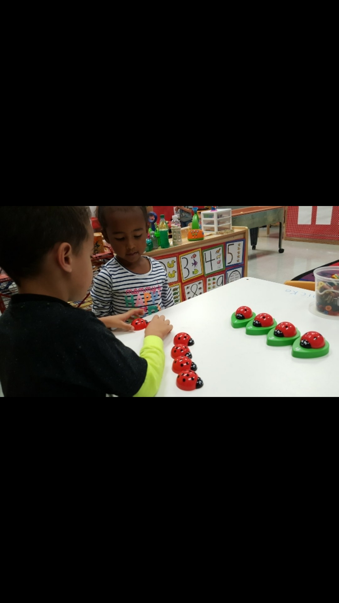 Counting /matching numbers 1-10
