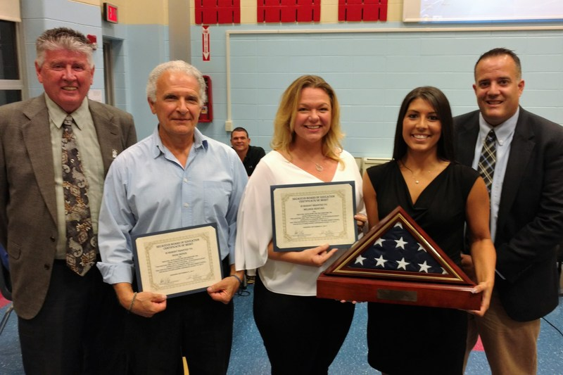Secaucus School District Faculty Members Honored at Board of Education Showcase of Success for Developing and Presenting Cross-Curricular Unit of Study Focusing on 9-11 Thumbnail Image