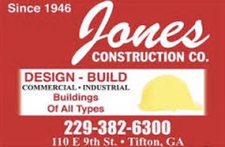 Jones construction logo