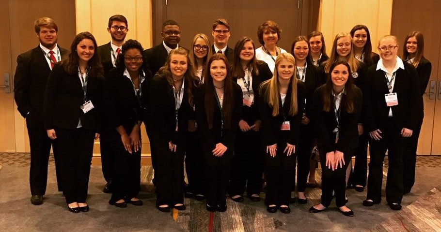 Professional Dress Group Photo at State Convention
