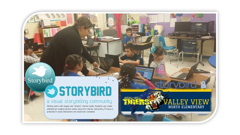 North Elementary Rolling Out Storybird App on Chrome Books Thumbnail Image