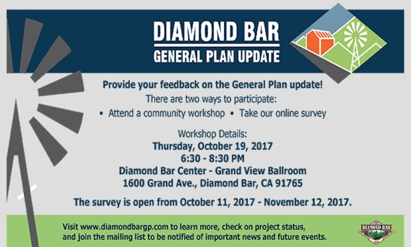 City of Diamond Bar General Plan Update Featured Photo