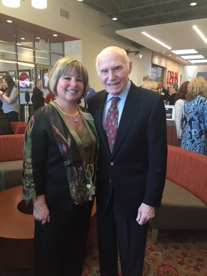 Sherry Tolkan with Herb Kohl