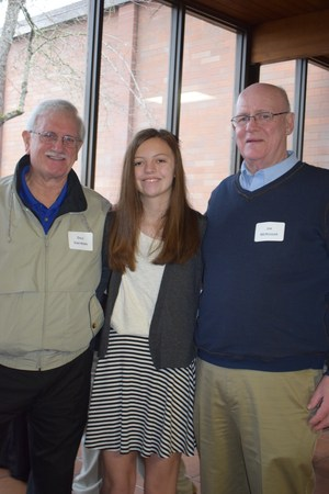 Girl with grandfathers.