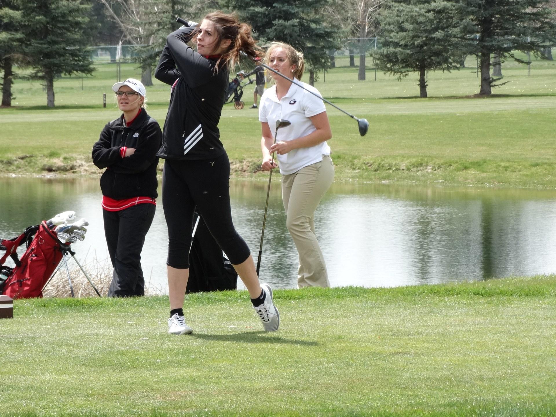 Girls Golf.