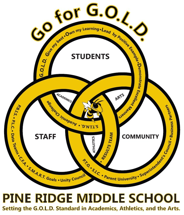 Pine Ridge Middle School Crest