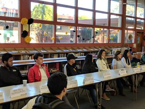Photo of 2017 College Panel in Del Mar Library